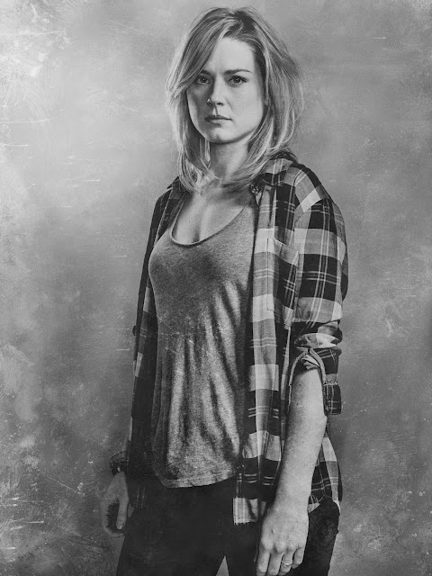 Alexandra Breckenridge como Jessie Anderson – The Walking Dead _ sexta temporada, Silver Portraits – Photo Credit: Frank Ockenfels 3/AMC