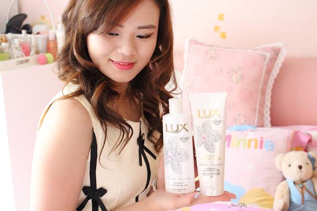 review, beauty, soap, lux, unilever, white impress