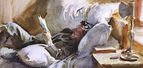 MAN READING DE JOHN SINGER SARGENT