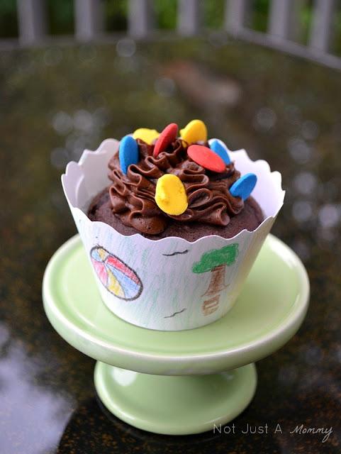 Back to school Bella Cupcake Couture blog party lake cupcake