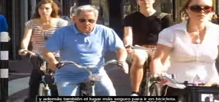 bici holanda carril bici historia