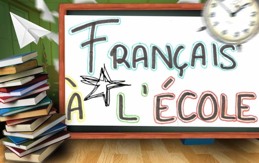 Français à l'école