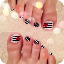 Perfect Nail Art Designs For Girls Pretty And Cute Pedicure Nail