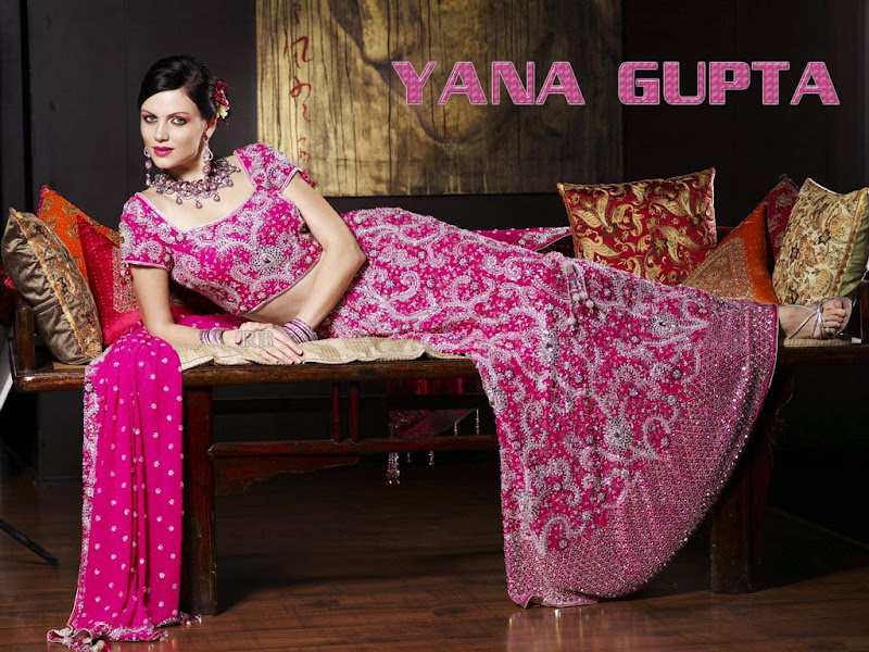 Yana Gupta latest Wallpapers  Cute girl in typical indian wears unseen pics