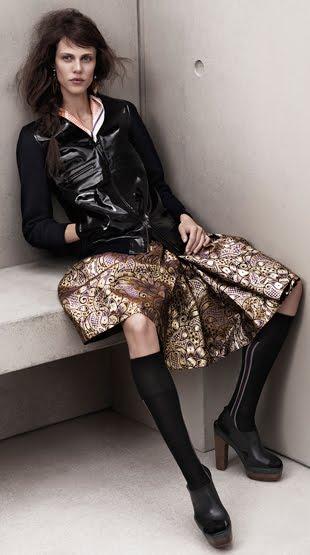 faldas Marni H&M