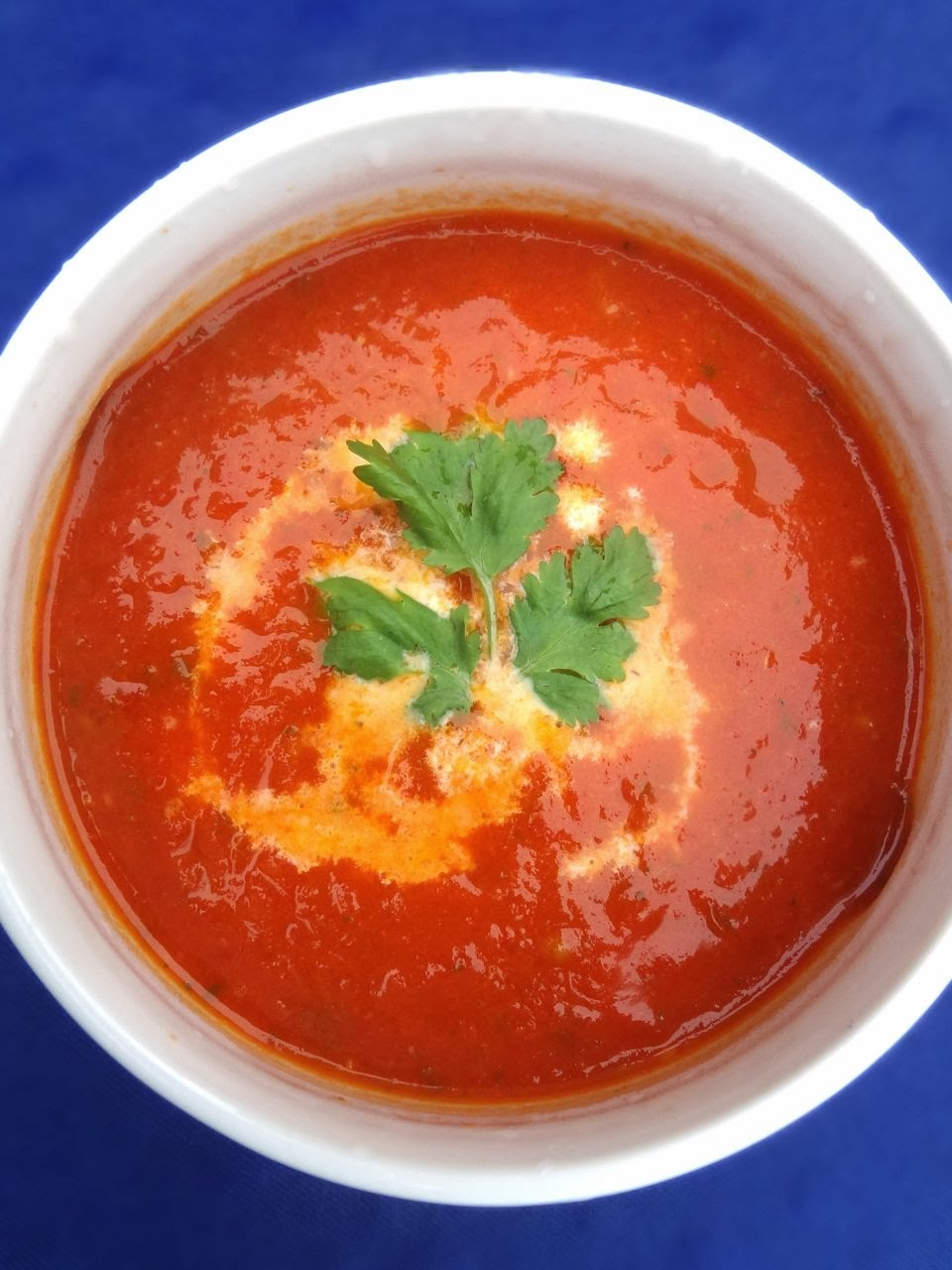 Scrumpdillyicious: Oven Roasted Tomato Soup