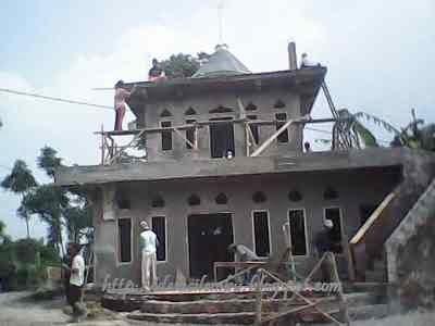 Rehab Mesjid RW.03 Dusun Cintamulya Desa Cilembu