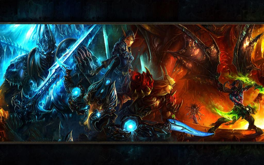 World of Warcraft HD & Widescreen Wallpaper 0.840238138875222