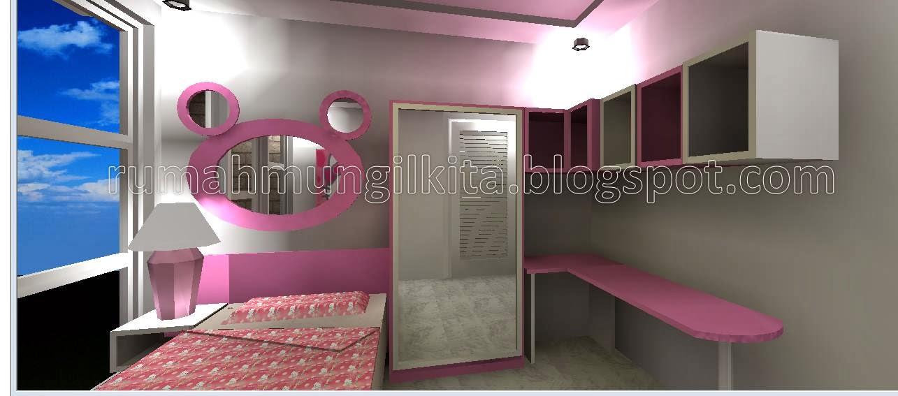 penataan rumah tipe 54 tanah 70 2lantai 3kamar tidur