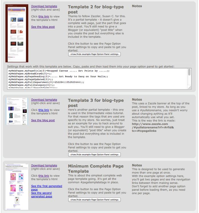 http://www.kdl.to/zazzlemysite/templates.html