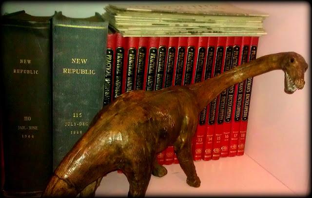 leather dinosaur
