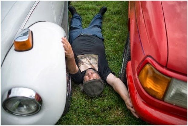 here are some of the photos as the man seduces his cars