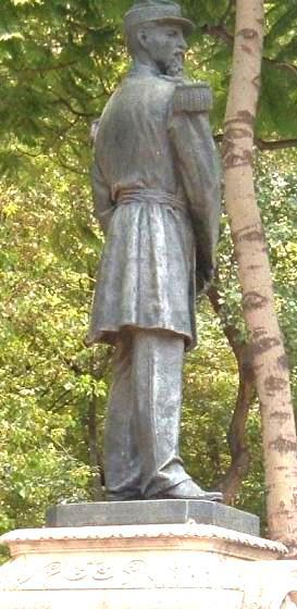 Estatua de Gregorio Méndez Magaña