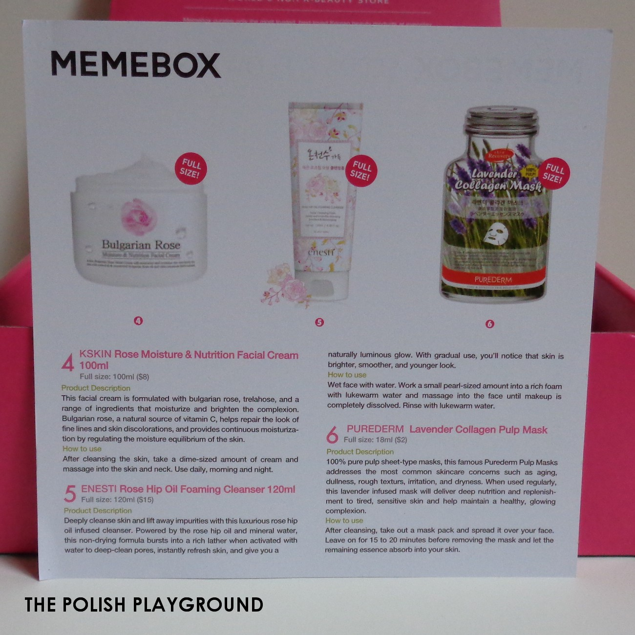 Memebox Seeds & Flowers Unboxing