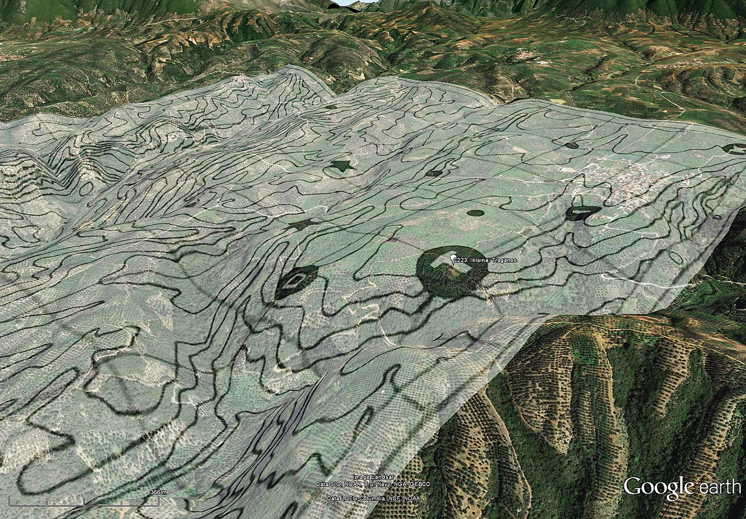 Sh sh show me my house on google earth - Illus 4 Turning On The Terrain Layer Renders Your New Overlay In 3d