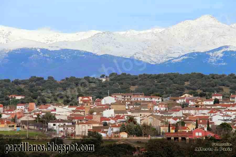 Parrillas a los pies de la Sierra de Gredos.