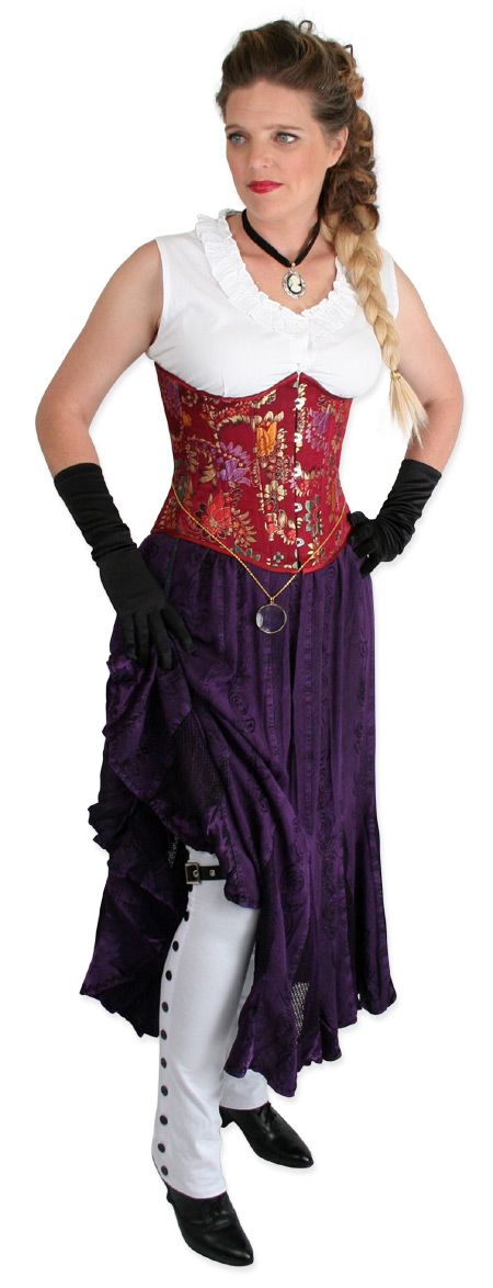 Victorian Steampunk Clothing for Women