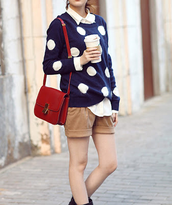 1 Going dotty over polka dots