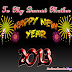 Happy New Year Greeting Card For Mother
