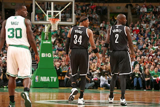 Paul Pierce and Kevin Garnett returning to Boston again this Friday