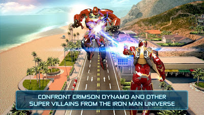 Iron Man 3 for Android, iPad and iPhone