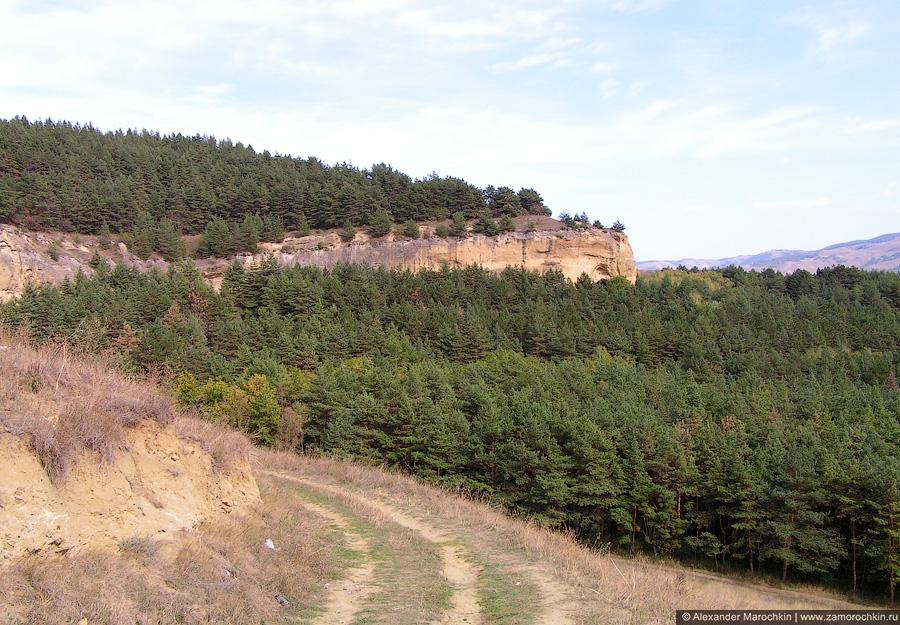 Пейзаж с горы Кольцо близ Кисловодска