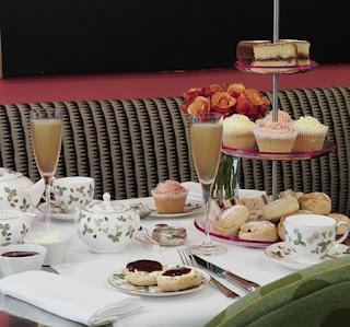 The Soho Hotel London, Afternoon tea