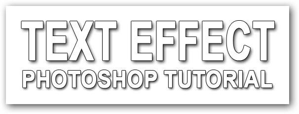 Tutorial Text Effect Pada Photoshop