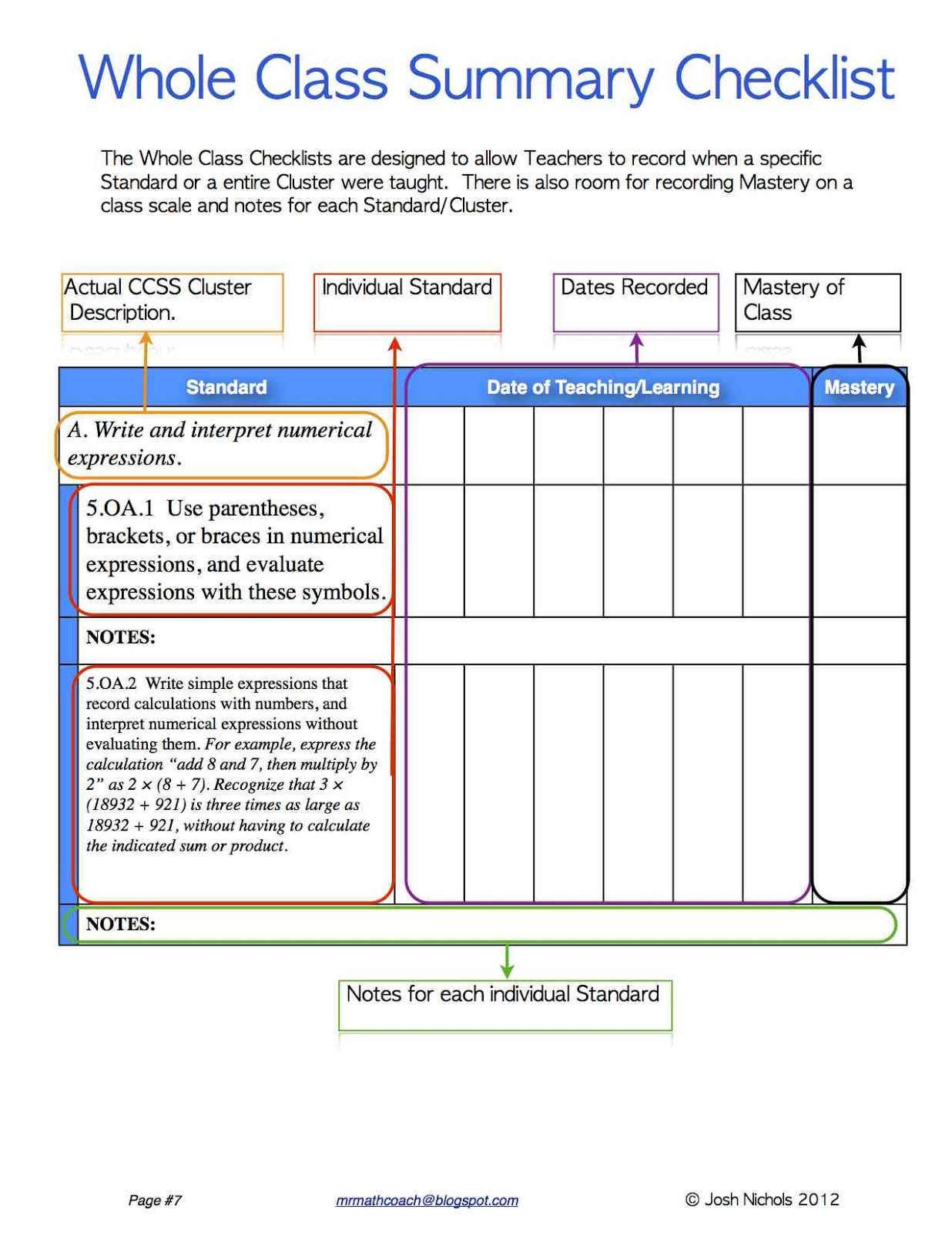 Evaluating expressions worksheet 6th grade