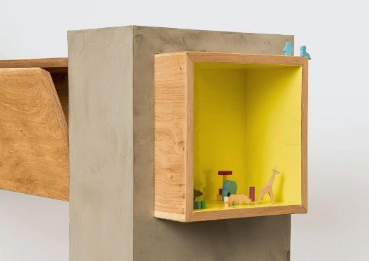 Attraverso muebles en madera maciza de roble y mdf for Muebles de oficina volumen