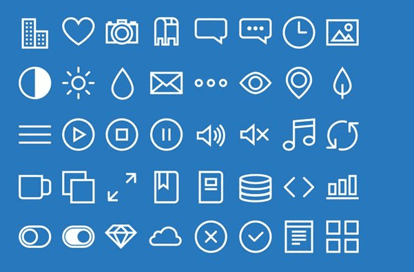 Thinlines – Free Icons (PSD, AI, SVG, PNG)