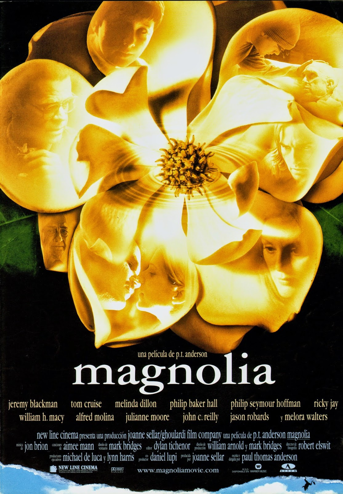 an analysis of the movie magnolia by paul thomas anderson The only companion book to the much-anticipated follow-up to paul thomas anderson's critically hailed boogie nights that when a movie like magnolia is so.