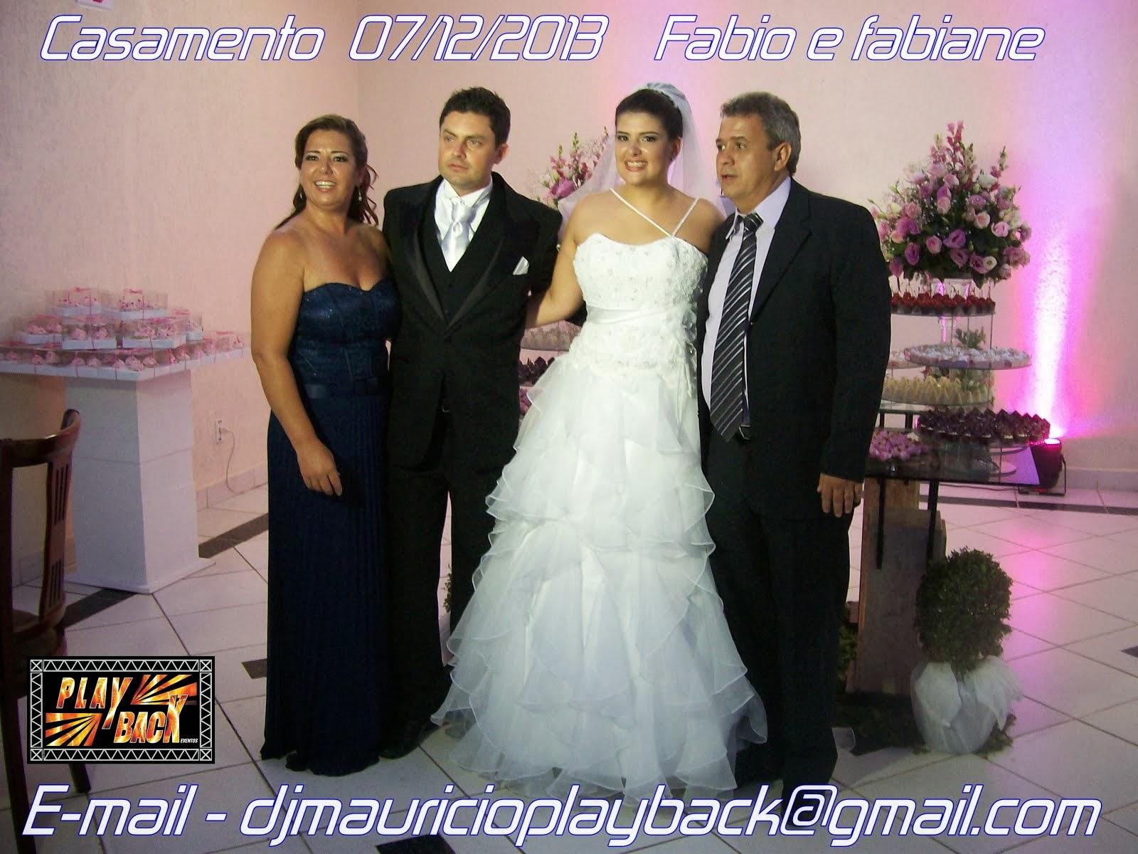 Fabiane e Fabio Casamento