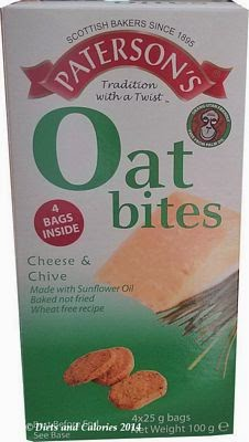 Patersons oat bites cheese & chive