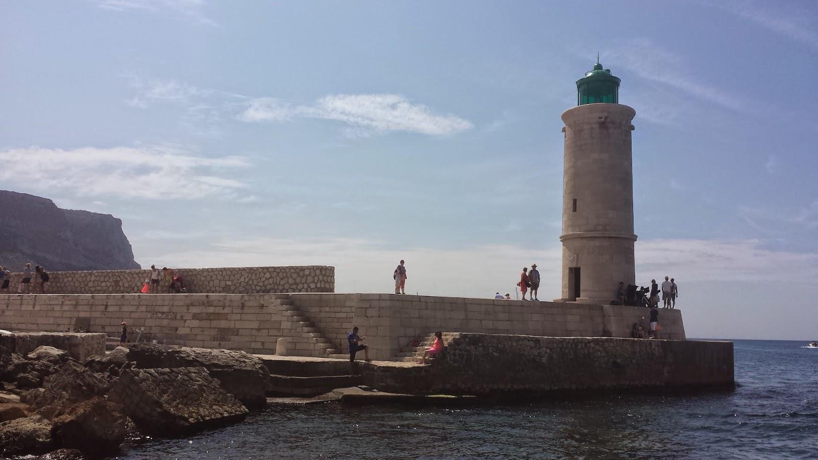 Phare au Port de Cassis