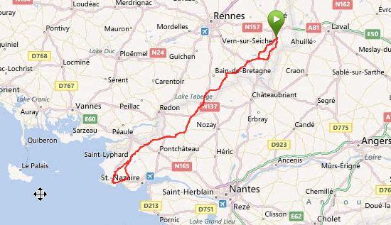 Carte de France: Carte de france la baule