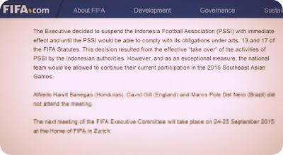 FIFA Beri Sanksi ke PSSI, Persipura Tetap Bangga