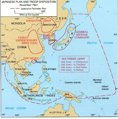 Asia Pacific Area Map