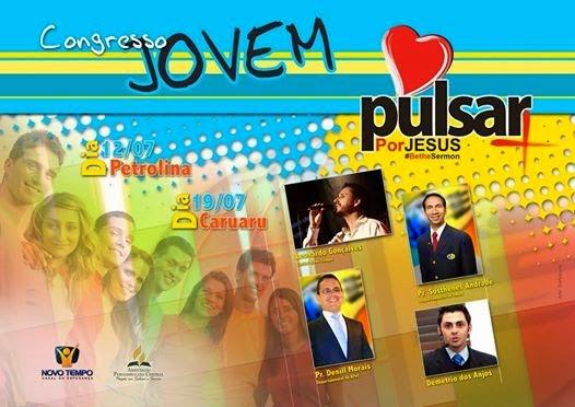 CONGRESSO JOVEM : PULSAR POR JESUS
