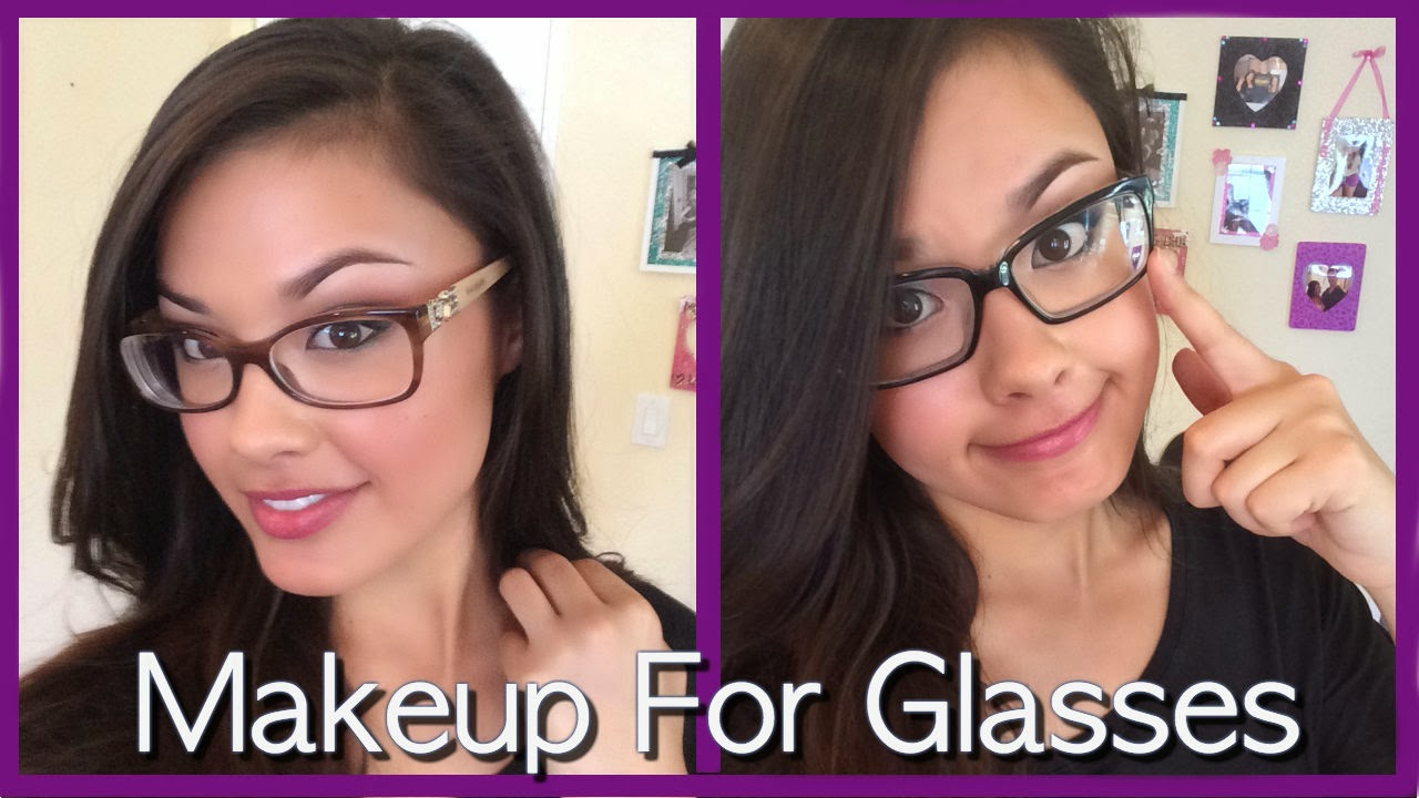 the beauty breakdown thebeautybreakdown morgansbbd natural makeup tutorial for glasses black frames brown frames