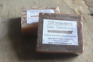 chocolate organic soap