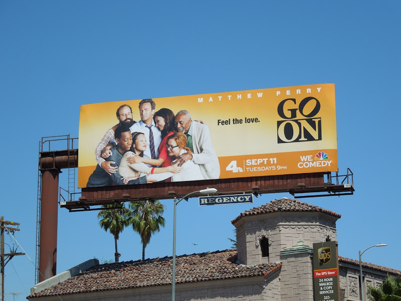 Matthew Perry Go On billboard