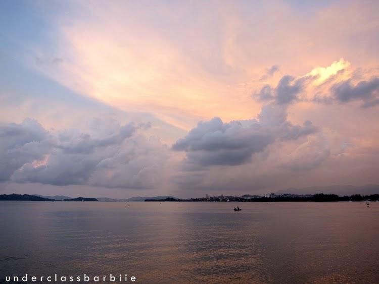 sunset bar sabah