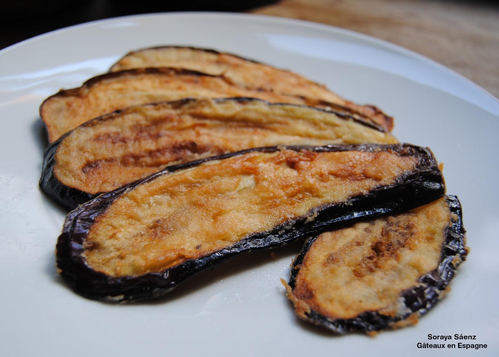 G teaux en espagne recette pour faire les enfants manger des l gumes aubergines frites - Cuisiner aubergine rapide ...