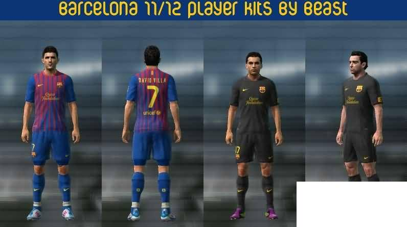Temporada 2011 2012     Players     GDB     Para PES 2011 By BeasT