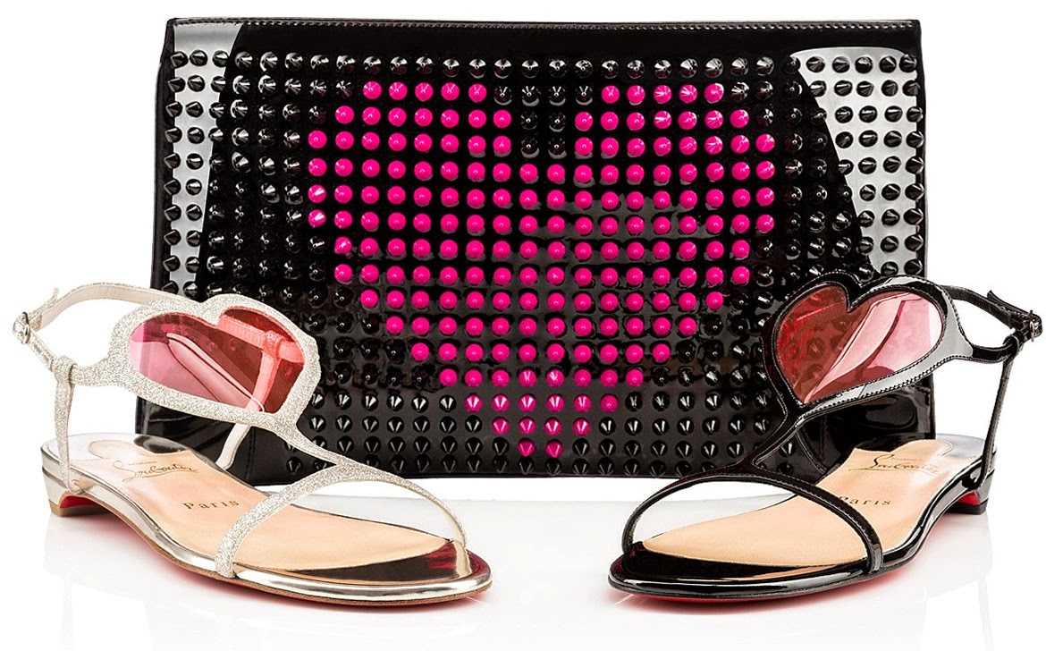Christian Louboutin Shoes And Bags for Valentines Day 2015 | for ...