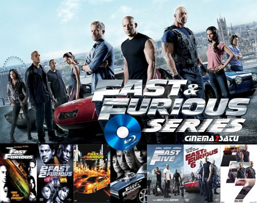Fast and Furious Series Bluray 720p COMPLETE