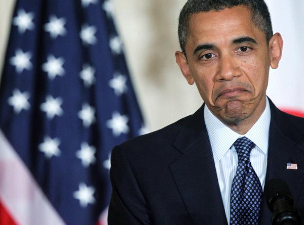 Obama shrugs