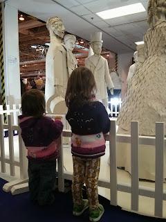 paper statues