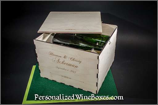 Wine Gift Box, 6 bottle wine gift box, wooden wine box